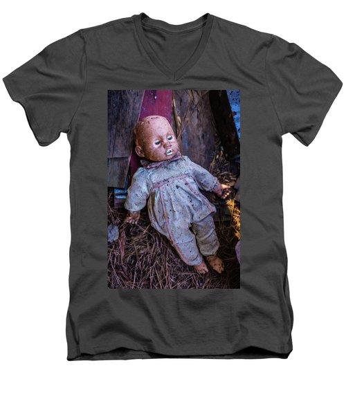 Sleeping Doll Men's V-Neck T-Shirt
