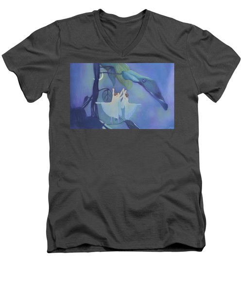 Sleeping Fairies Men's V-Neck T-Shirt by Blue Sky