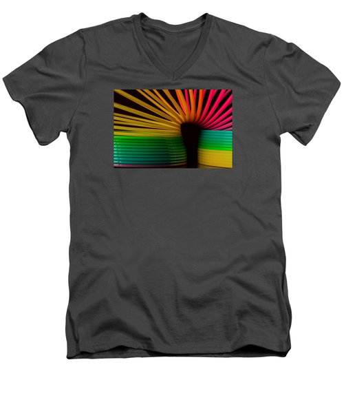 Slinky Men's V-Neck T-Shirt