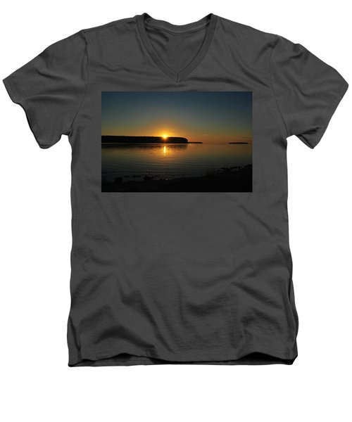 Slip Away Men's V-Neck T-Shirt