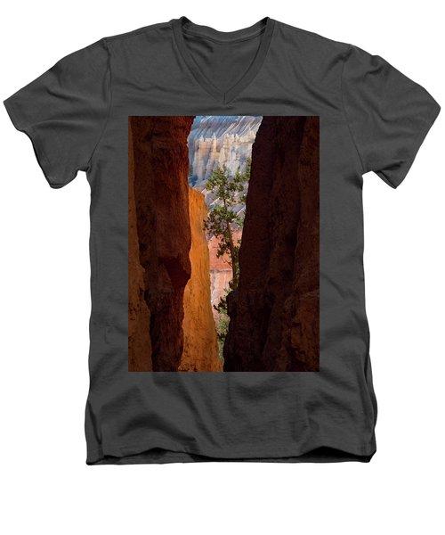 Sliver Of Bryce Men's V-Neck T-Shirt