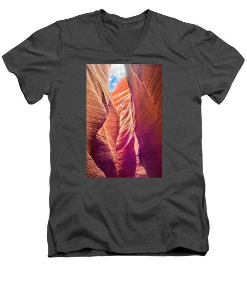 Slot Canyon 1 Men's V-Neck T-Shirt