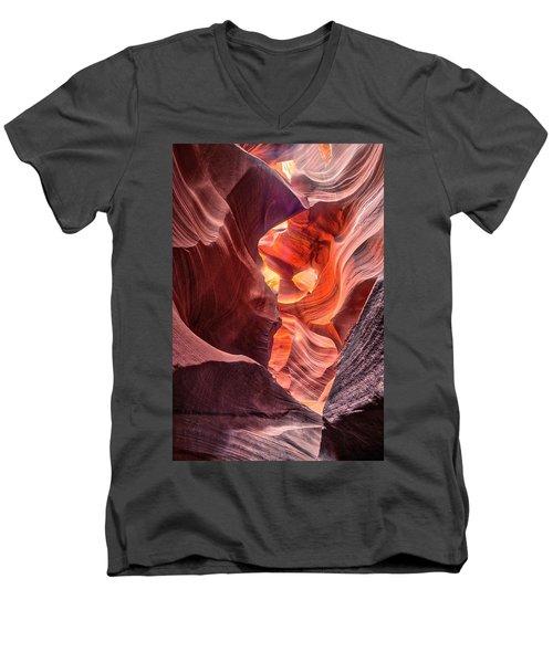 Slot Canyon 2 Men's V-Neck T-Shirt