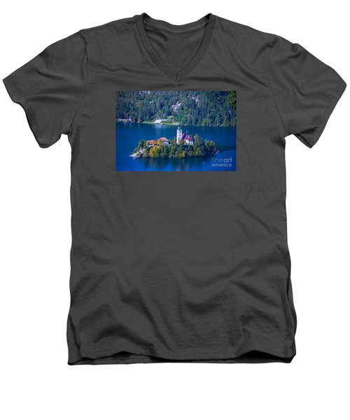 Slovenia Europe Men's V-Neck T-Shirt