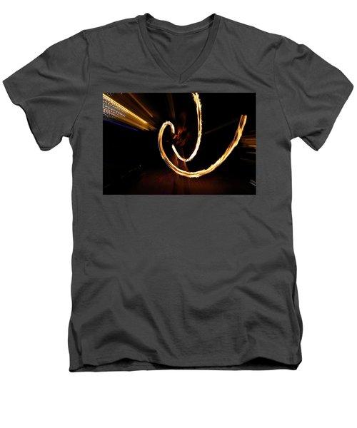 Slow Motion Men's V-Neck T-Shirt