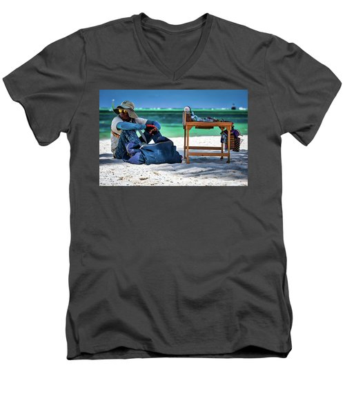 Slow Sales Day Men's V-Neck T-Shirt