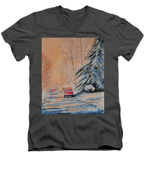 Slush Men's V-Neck T-Shirt