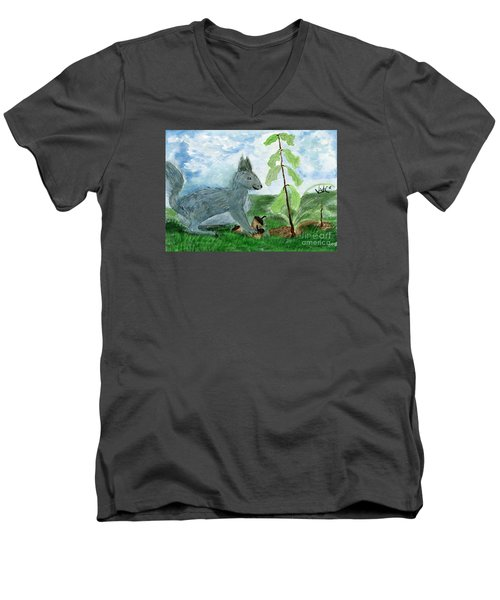 Small Changes In Life Men's V-Neck T-Shirt