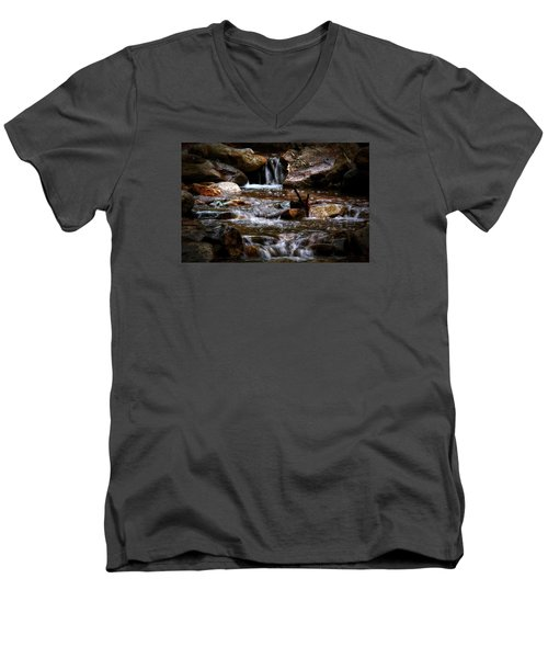 Small Falls Men's V-Neck T-Shirt