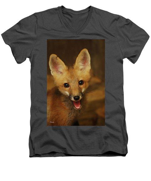 Smile Men's V-Neck T-Shirt