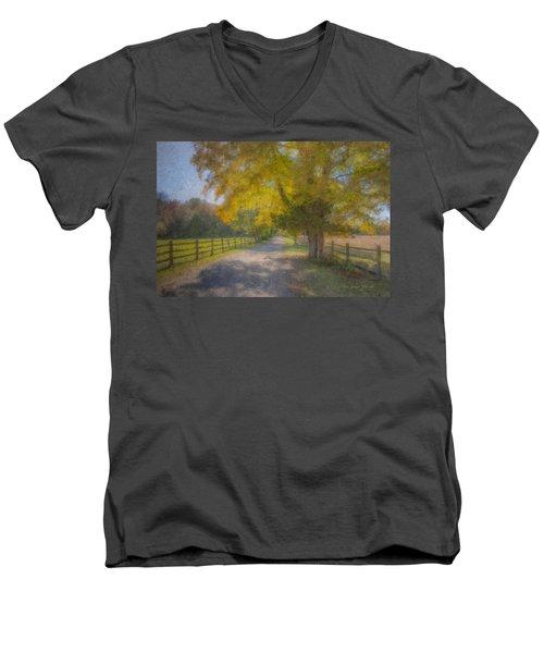 Smith Farm October Glory Men's V-Neck T-Shirt