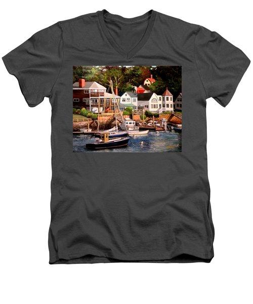 Smiths Cove Gloucester Men's V-Neck T-Shirt