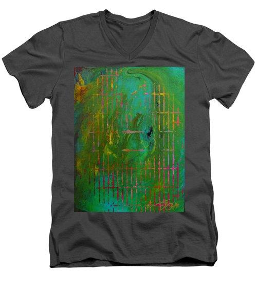 Smog Men's V-Neck T-Shirt