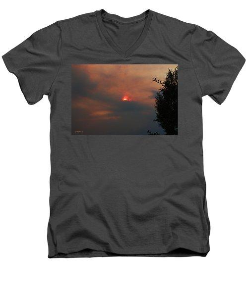 Smoke And Heat Men's V-Neck T-Shirt
