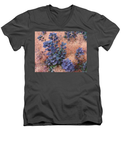 Smoke Bush Men's V-Neck T-Shirt