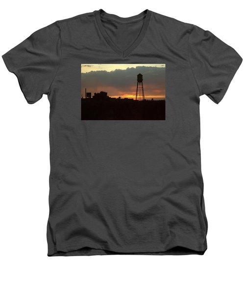 Smoke Filled Men's V-Neck T-Shirt