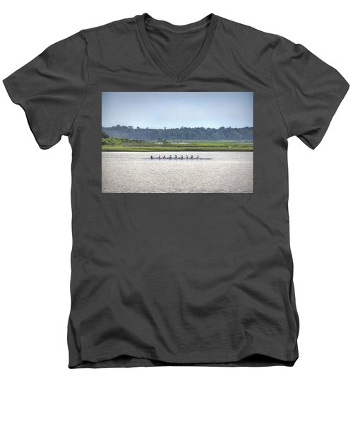 Smoke On The Water Men's V-Neck T-Shirt