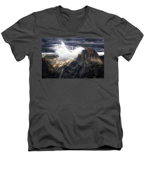 Smoked Men's V-Neck T-Shirt