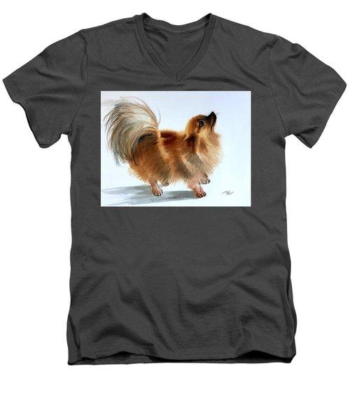 Smokey2 Men's V-Neck T-Shirt