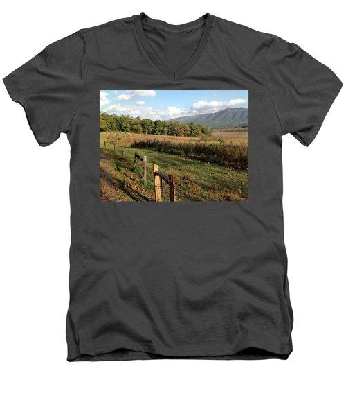 Smokies 2 Men's V-Neck T-Shirt