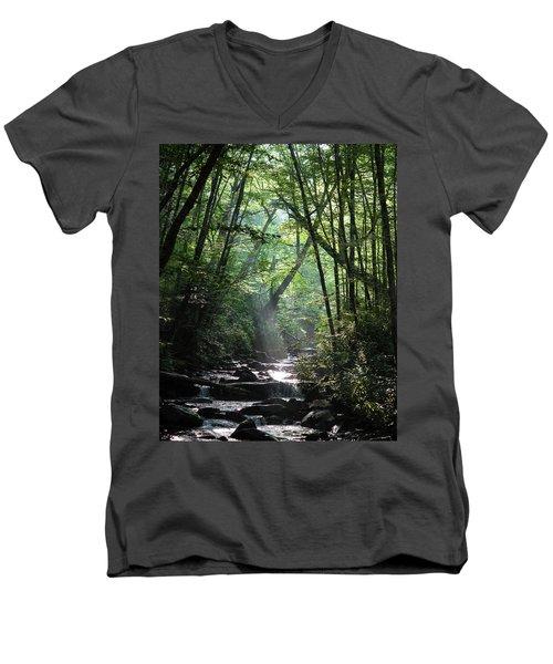 Smoky Men's V-Neck T-Shirt