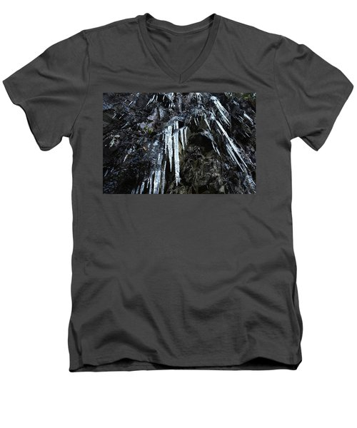 Smoky Mountain Ice Men's V-Neck T-Shirt