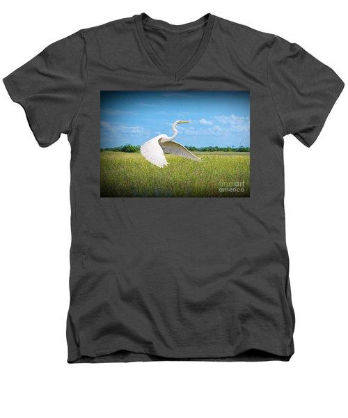 Smooth Sail Men's V-Neck T-Shirt
