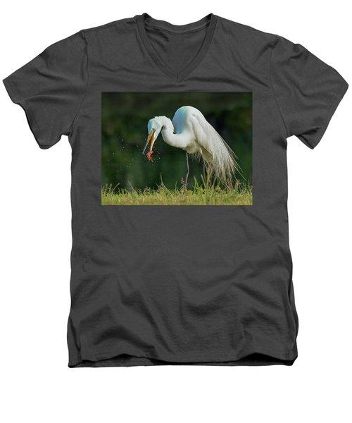 Snack Men's V-Neck T-Shirt