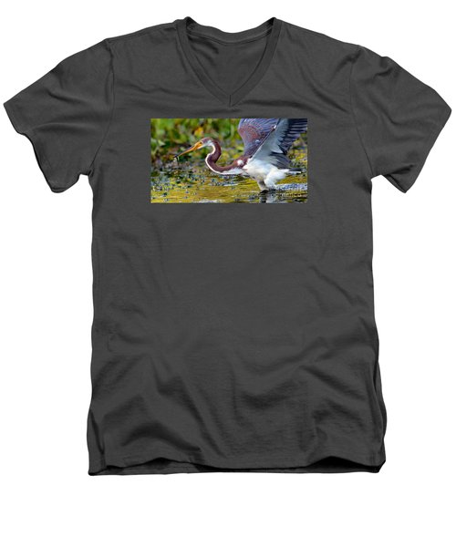 Snack - Signed Men's V-Neck T-Shirt