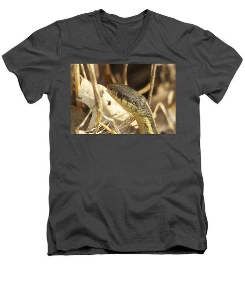 Snake Eye Men's V-Neck T-Shirt