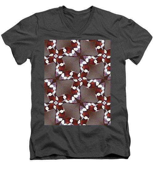 Snake I Men's V-Neck T-Shirt by Maria Watt