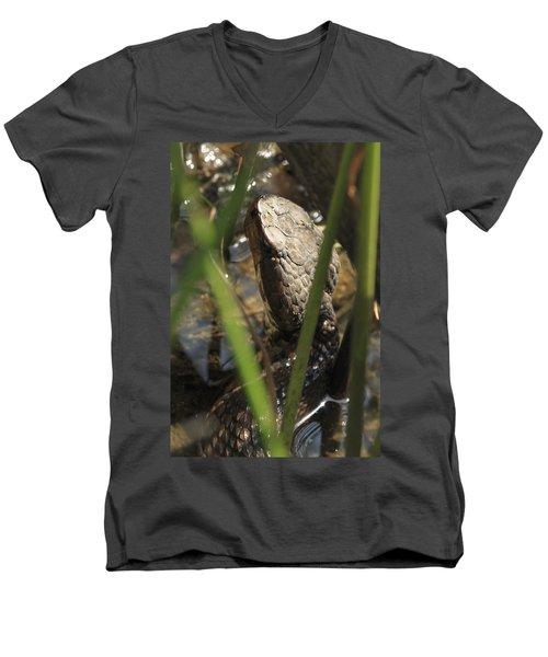 Snake In The Water Men's V-Neck T-Shirt