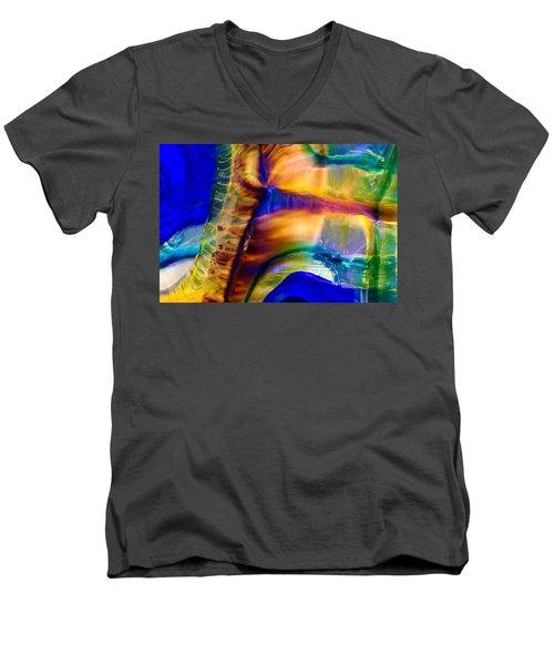 Snakeskin Goddess Men's V-Neck T-Shirt