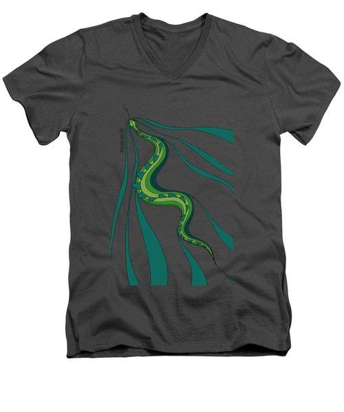 snakEVOLUTION I Men's V-Neck T-Shirt