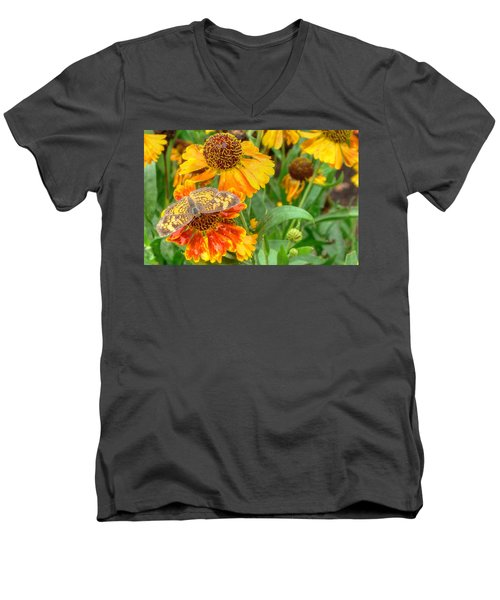 Sneezeweed Men's V-Neck T-Shirt