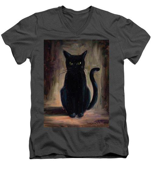 Snickers Men's V-Neck T-Shirt