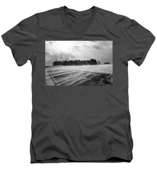 Snl-4 Men's V-Neck T-Shirt