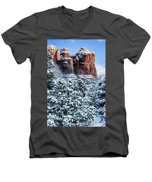 Snow 07-111 Men's V-Neck T-Shirt