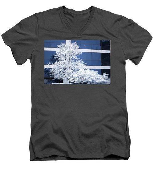 Snow Art Men's V-Neck T-Shirt
