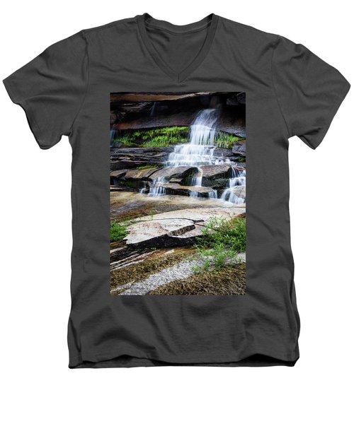 Snow Creek Cascade Men's V-Neck T-Shirt