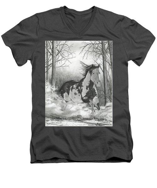Snow Driftin' Men's V-Neck T-Shirt