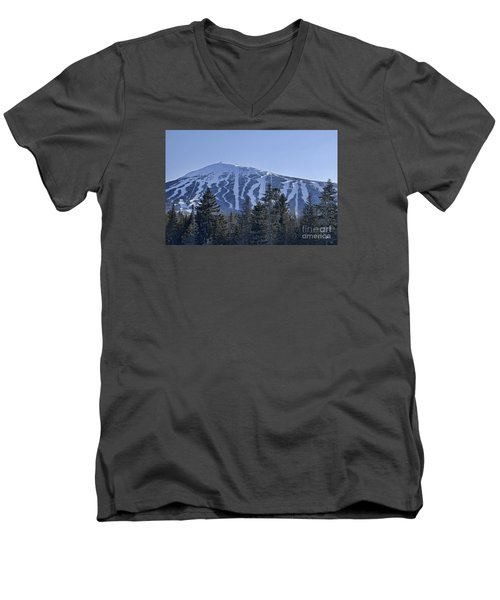 Snow On The Loaf Men's V-Neck T-Shirt