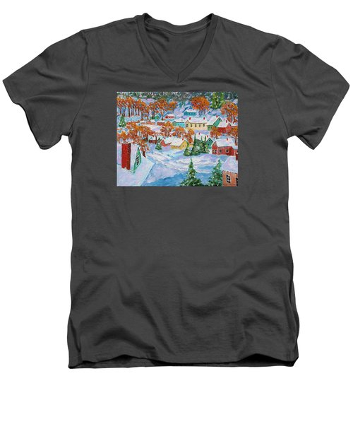 Snowed In Men's V-Neck T-Shirt