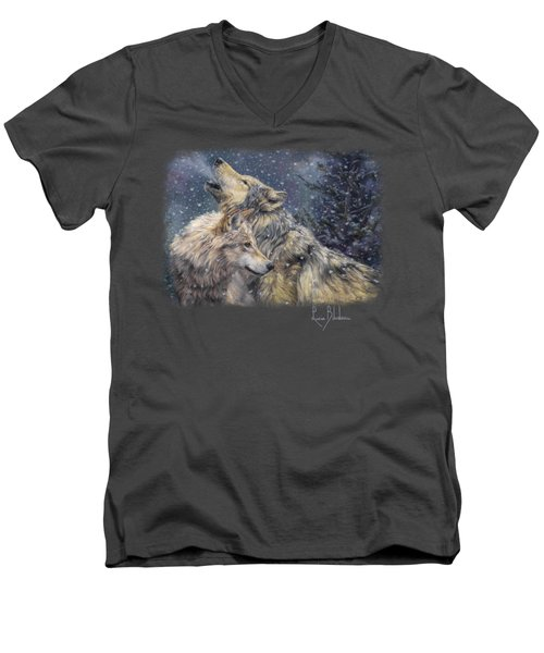 Snowfall Men's V-Neck T-Shirt