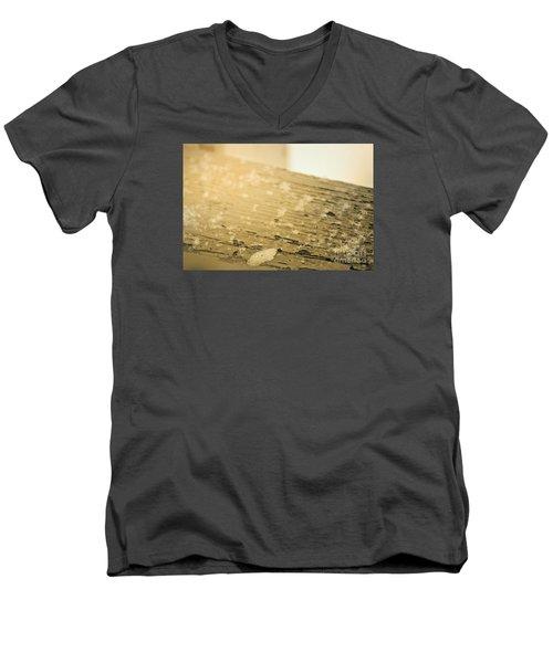 Snowflake Life Men's V-Neck T-Shirt by Janie Johnson