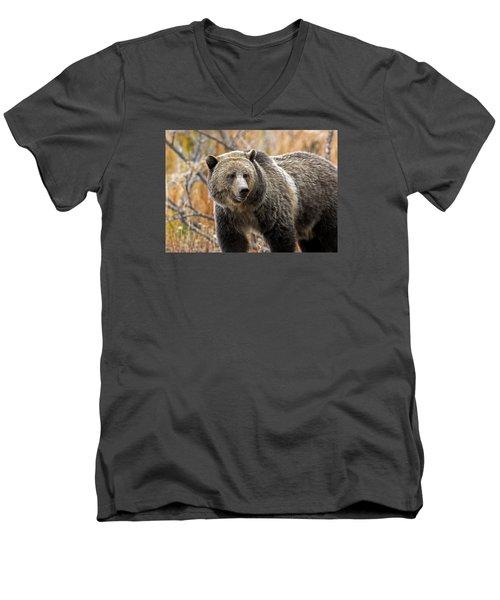Snow's Mama Bear Men's V-Neck T-Shirt