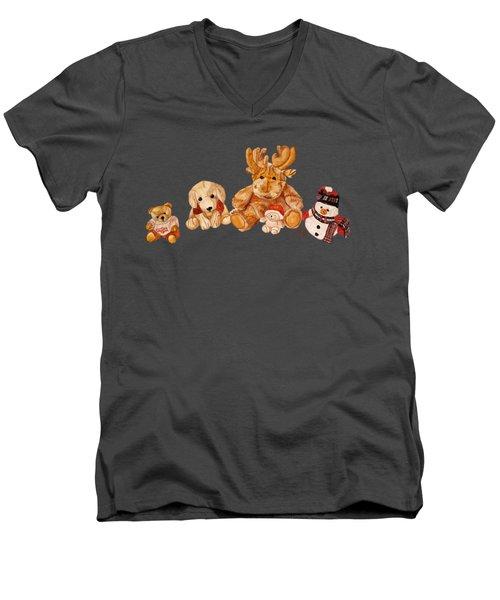 Snowy Patrol Men's V-Neck T-Shirt