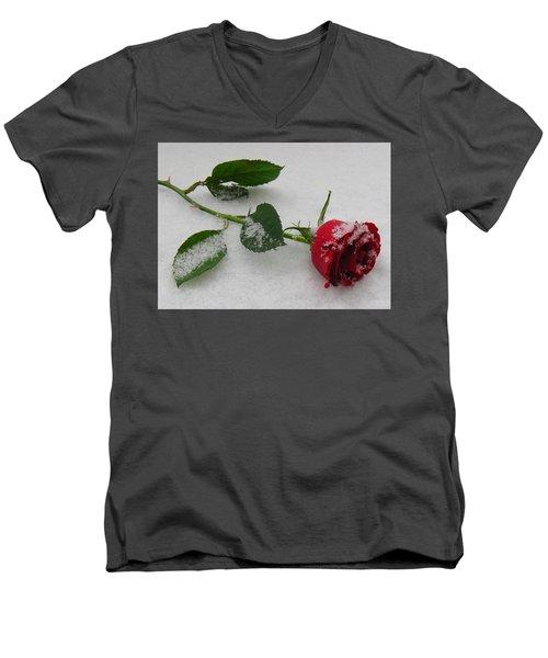 Richard's  Rose Men's V-Neck T-Shirt
