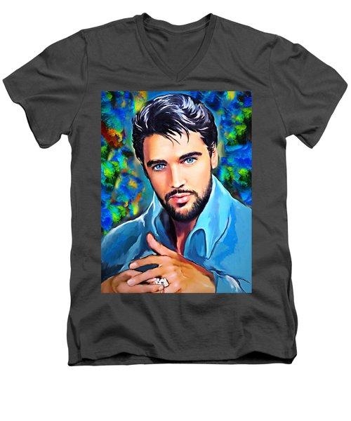 So Beautiful Men's V-Neck T-Shirt