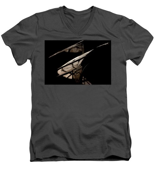 Men's V-Neck T-Shirt featuring the photograph So Beautiful by Paul Job
